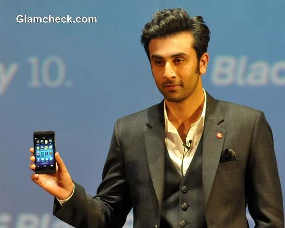 Ranbir Kapoor Launches Blackberry 2nd Most Expensive Phone in India