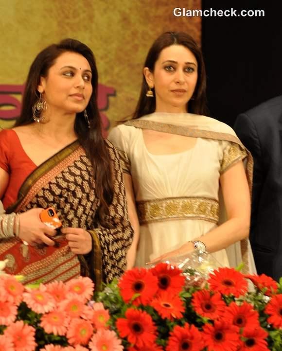 Rani Mukherjee Karisma Kapoor at Womens Safety event in Mumbai