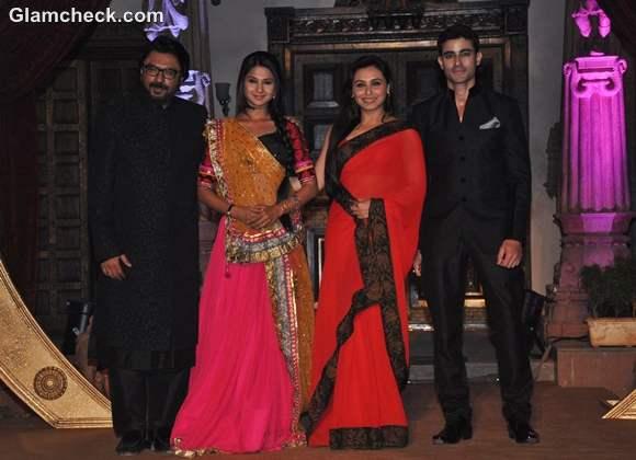 Rani Mukherji Launches Sanjay Leela Bhansali tv show Saraswatichandra