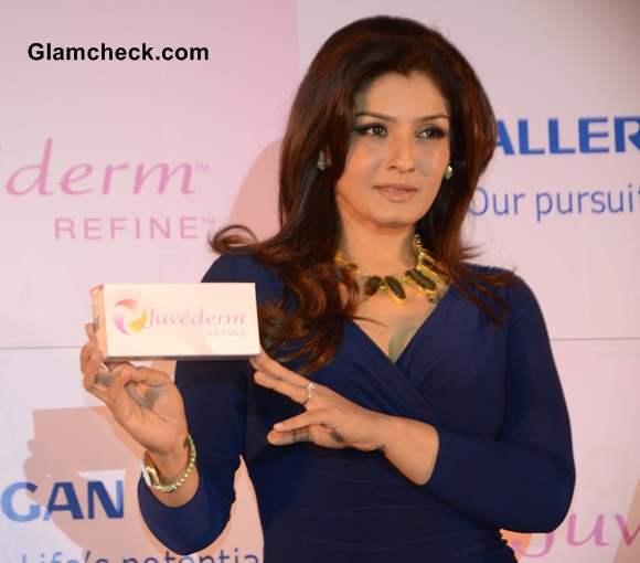 Raveena Tandon Glows At Jivederm Refine Promo