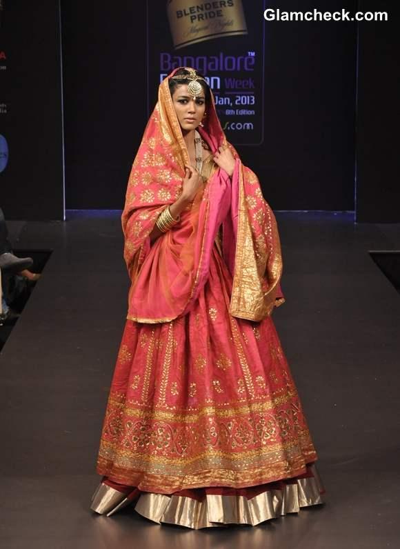 Ritu Kumar grand finale Bangalore Fashion Week 2013 summer showers