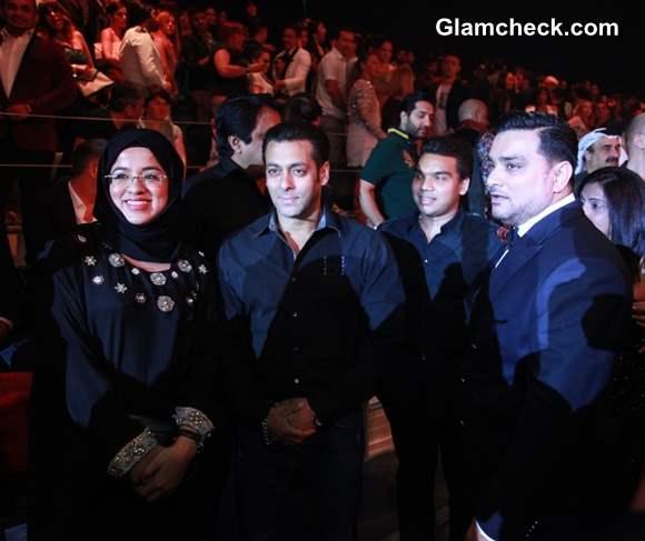 Salman Khan Attends Splash Fashion League in Dubai