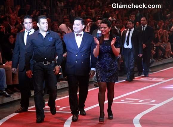 Salman Khan at Splash Fashion League Dubai