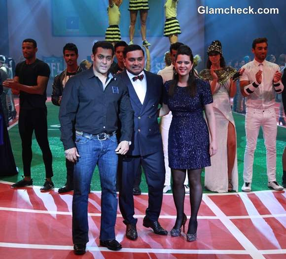 Salman Khan at Splash Fashion League in Dubai