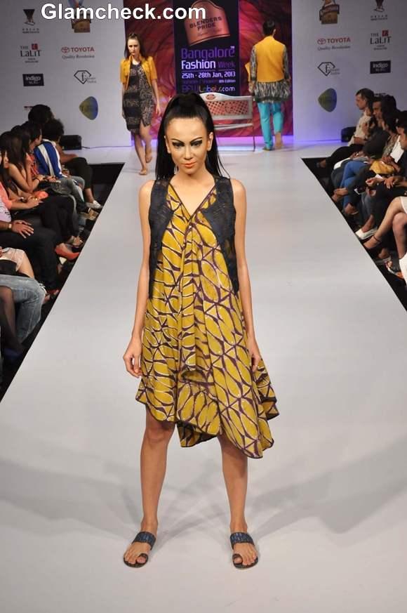 Sayantan Sarkar Bangalore Fashion Week 8th Edition Summer Showers 2013