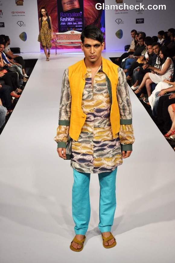 Sayantan Sarkar collection Bangalore Fashion Week 8th Edition Summer Showers 2013
