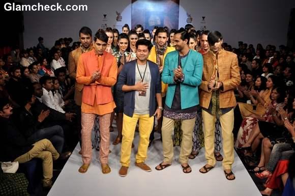Sayanthan Sarkar Collection bangalore fashion week summer showers 2013