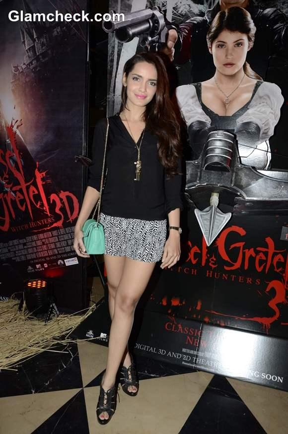 Shazahn Padamsee At The Screening Of Hansel Gretel 3D