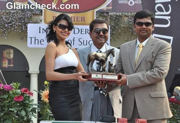 Sherlyn Chopra McDowell Signature Premium Indian Derby 2013