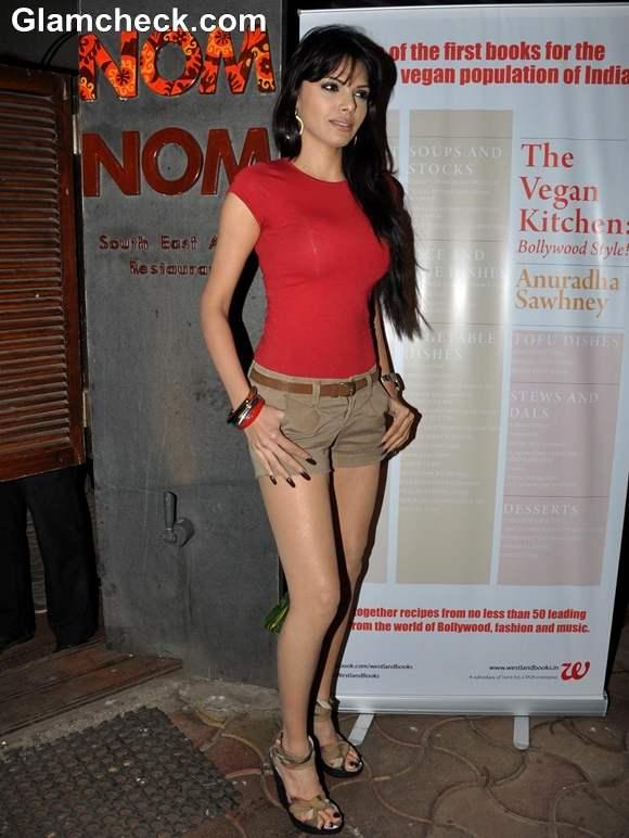 Sherlyn Chopra in shorts 2013