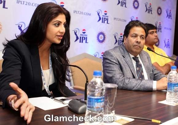Shilpa Shetty At IPL 2013 Player Auction In Chennai