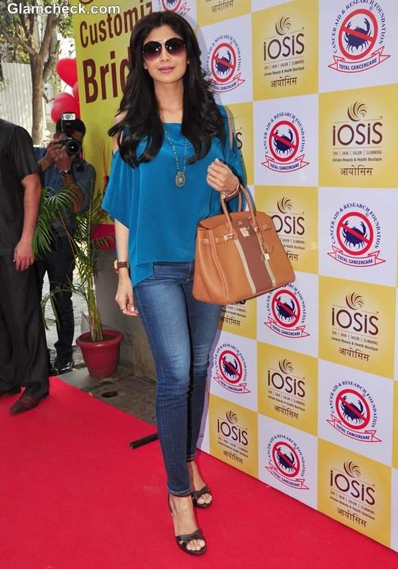 Shilpa Shetty casual style 2013