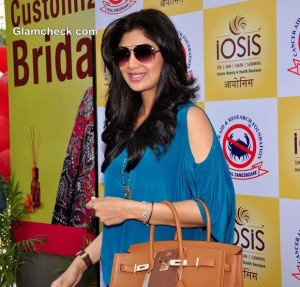 Shilpa Shetty In A Cut-Out Silhouette At An Event In Mumbai