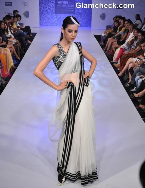 Shwetha Bhargava Collection bangalore fashion week summer showers 2013