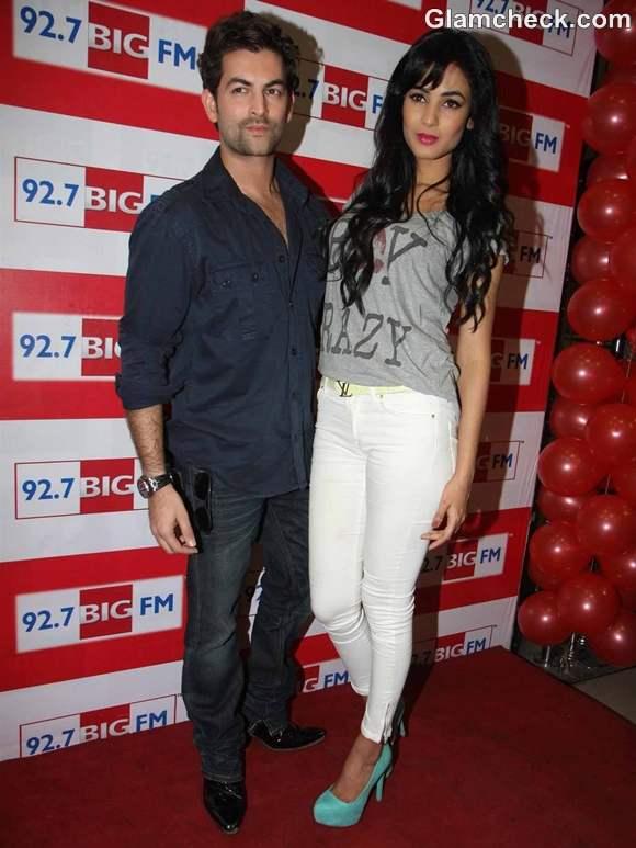 Sonal Chauhan Neil at  BIG FM 92-7 3G Music Launch