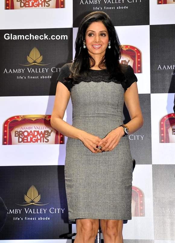 Sridevi in dress 2013
