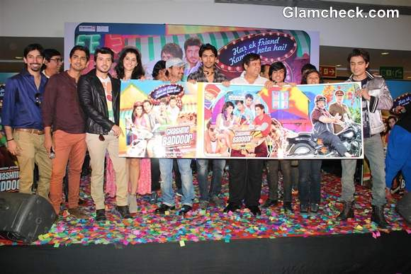 Star Cast Of Chashme Baddoor At Its Music Launch In Mumbai