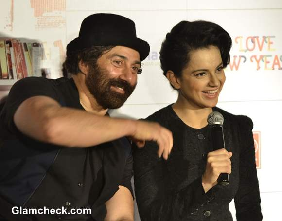Sunny Deol Kangana Ranaut Launch I Love New Year Theatrical Trailer in Mumbai