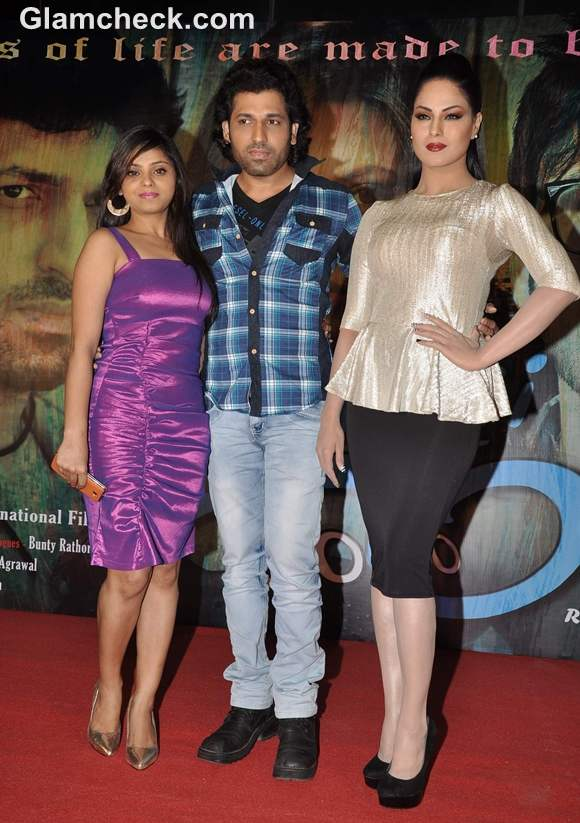 Veena Malik at Music Launch of movie Zindagi 50-50