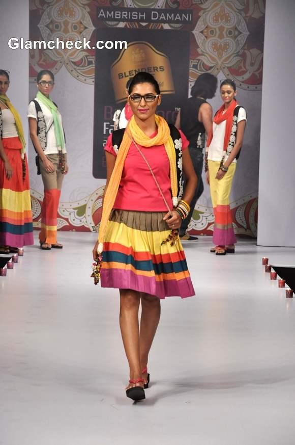 bangalore fashion week summer showers 2013 Ambrish Collection