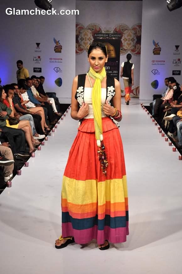 bangalore fashion week summer showers 2013 Ambrish