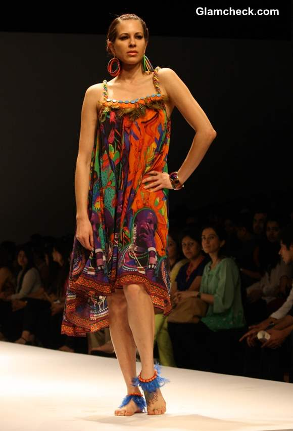 Afrocentric Trend by Preeti S Kapoor at WIFW Fall-Winter 2013
