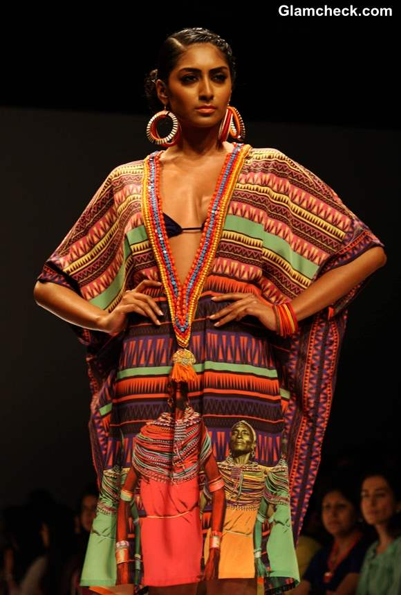 Afrocentric by Preeti S Kapoor at WIFW Fall-Winter 2013