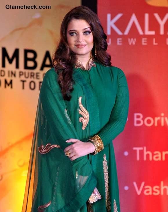 Aishwarya Rai Anarkali Aishwarya Rai Bachchan Green