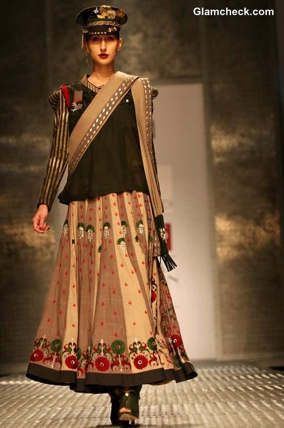 Anju Modi at WIFW Fall -Winter 2013