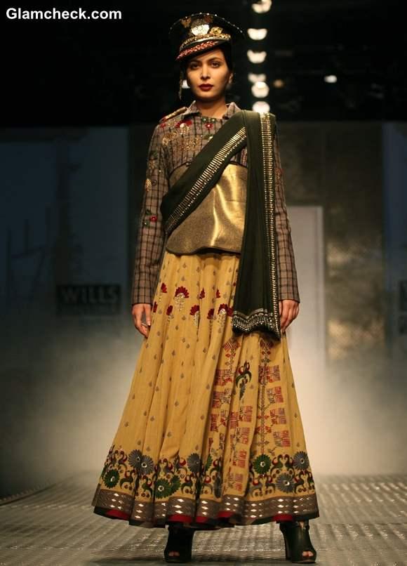 Anju Modi collection WIFW Fall -Winter 2013