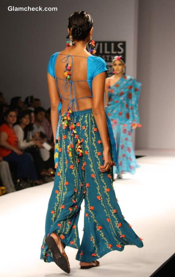 Anupama Dayal Wills Lifestyle Fashion Week Fall-Winter 2013 show