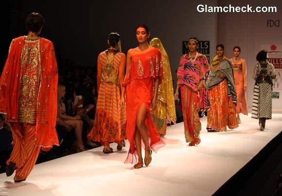 Anupama Dayal Wills Lifestyle Fashion Week Fall-Winter 2013