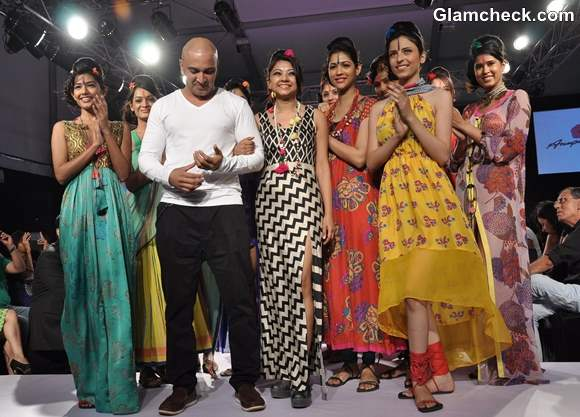 Anupama Dayal at the LFW Summer-Resort 2013
