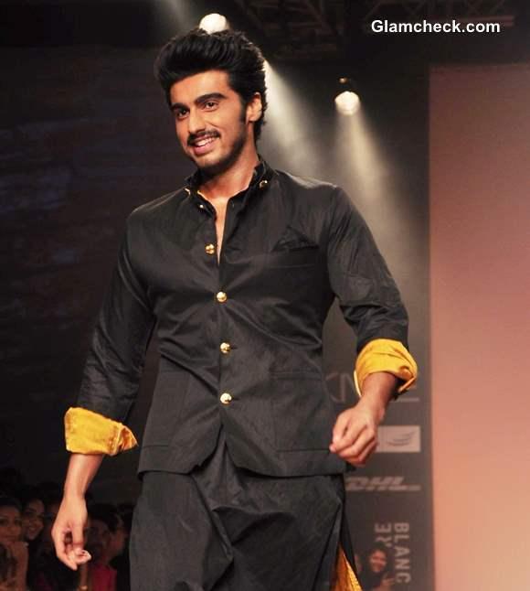 Arjun Kapoor for Kunal Rawal at LFW Summer Resort 2013