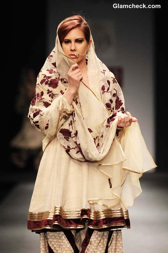 Awadh by Vineet Bahl at Wills Lifestyle India Fashion Week Fall-Winter 2013