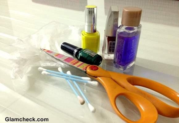 DIY Holi Inspired Nails