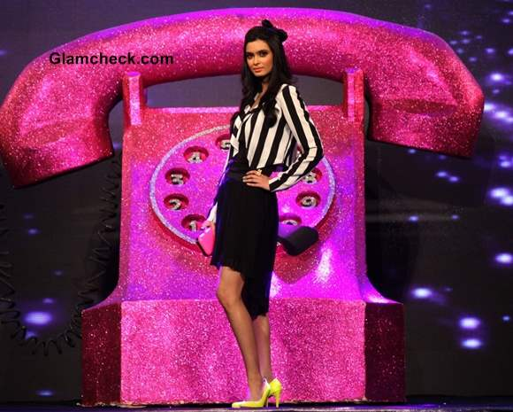 Diana penty at allure fashion show s-s 2013