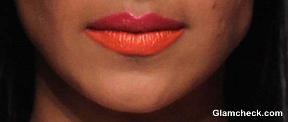 Dual Lip Color Trend for Holi