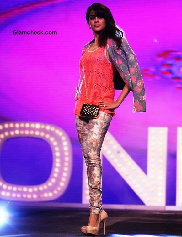 Genelia Deshmukh allure fashion show s-s 2013