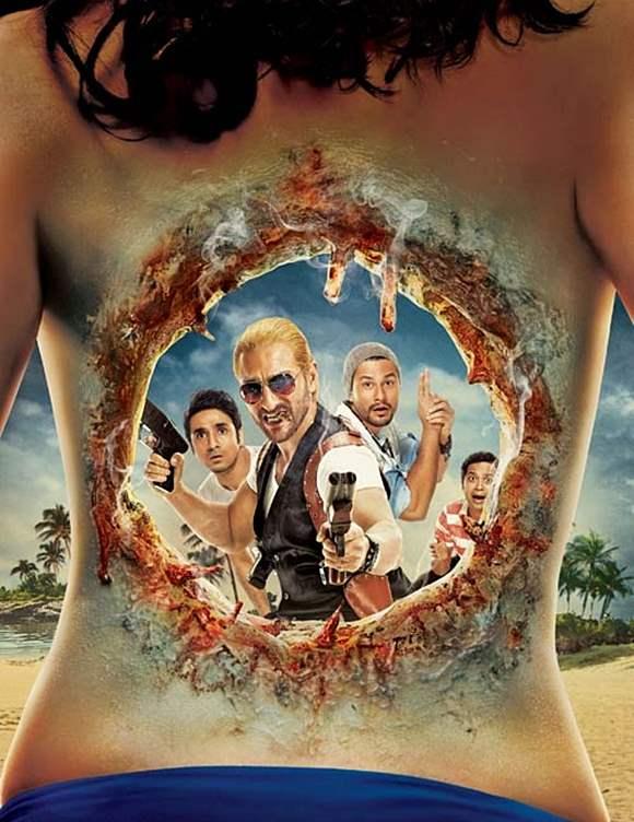 Go Goa Gone movie 2013 poster