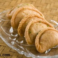 Gujiya Traditional Holi sweet Indian