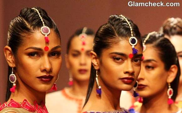 Hair Makeup Trend at WIFW Fall-Winter 2013