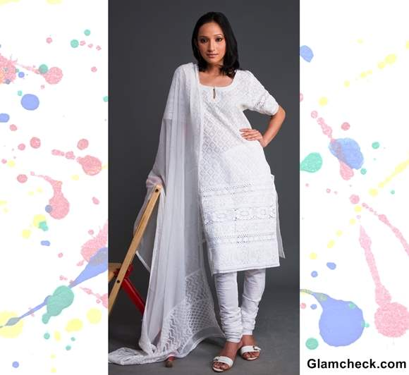 Holi Dressing Colorful ways to wear white