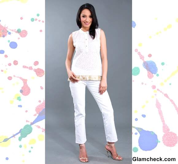 Holi Dressing Tips ways to wear white