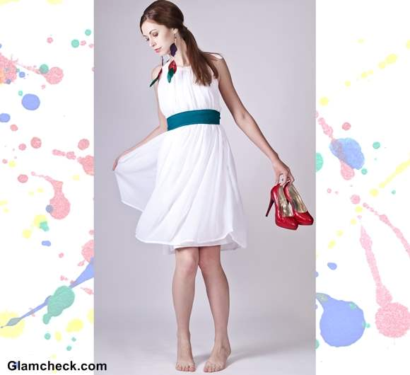 Holi Dressing tips wearing white dress
