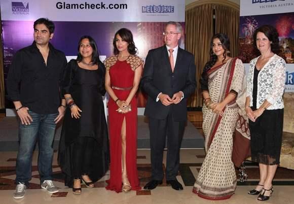 Indian Film Festival of Melbourne 2013 launch malaika arora khan vidya balan