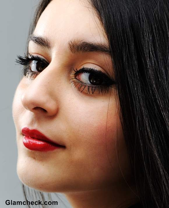 Indian Makeup Red lips