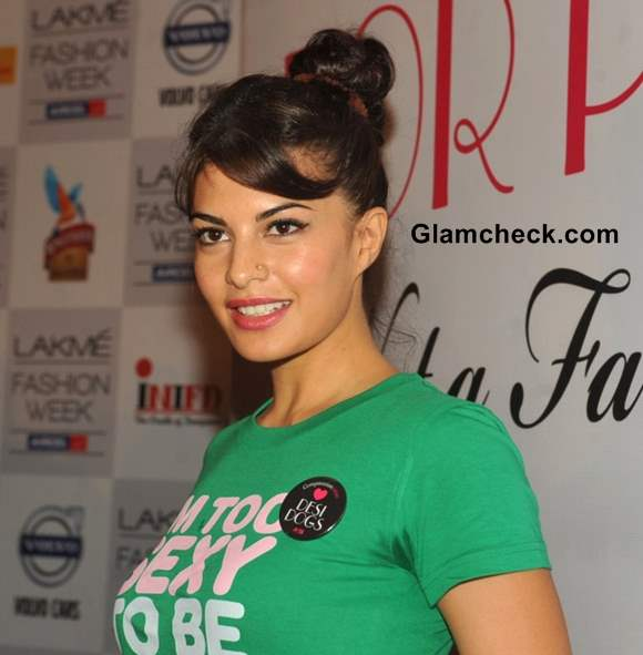Jacqueline Fernandes 2013 hairstyle