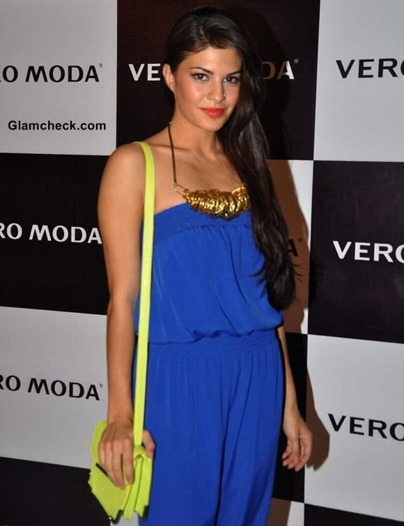 Jacqueline Fernandes at Vero Moda fashion show S-S 2013