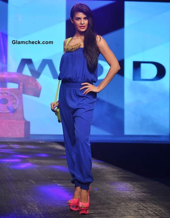 Jacqueline Fernandes vero moda fashion show 2013